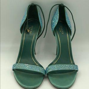 Gucci  Swarovski Crystal heels